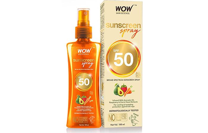 Wow Skin Science Sunscreen Spray