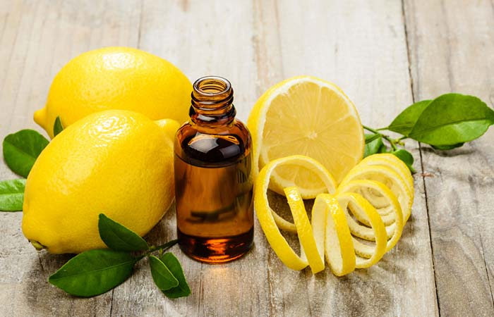 Home Remedies To Get Rid Of Indigestion - Lemon Essential Oil