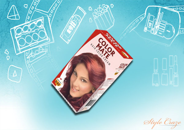 color mate hair color cream 6.65 burgundy