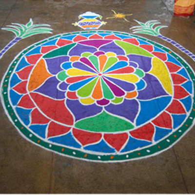 Image result for pongal kolam