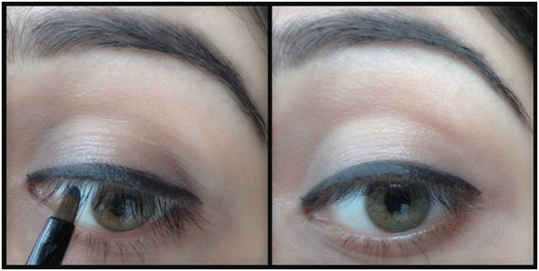How To Make Eyes Look Bigger With Eyeliner - Step 5: Fill The Space