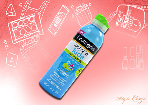 neutrogena wet skin kids spray