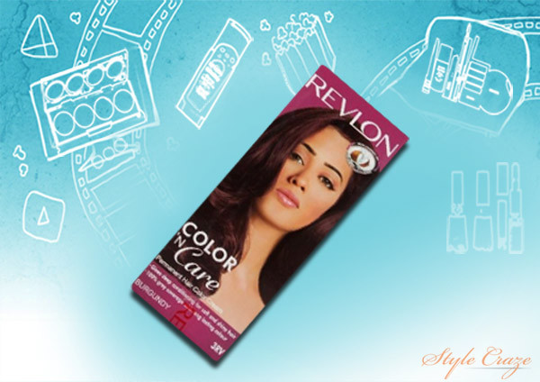 revlon color 'n care hair color (burgundy 3RV)