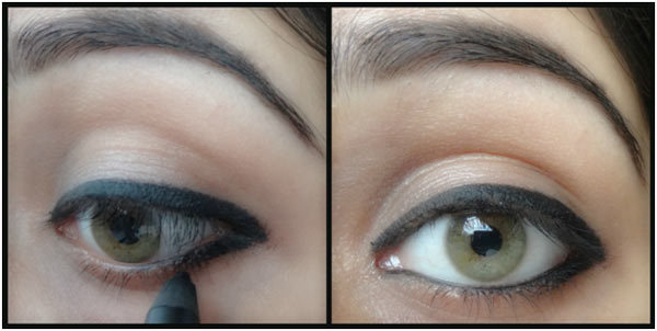 how to put on eyeliner to make your eyes bigger