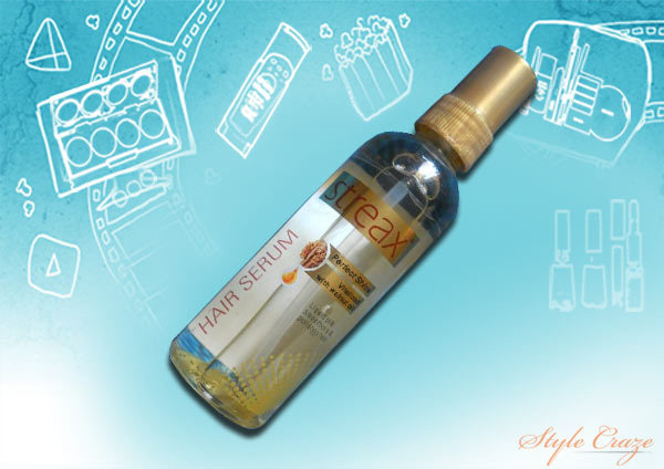 streax perfect shine hair serum