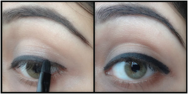 How To Make Eyes Look Bigger With Eyeliner - Step 6: Thicken The Eyeliner In The Outer Corner