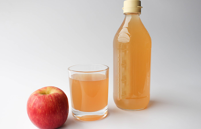 1. Apple Cider Vinegar For Chest Congestion