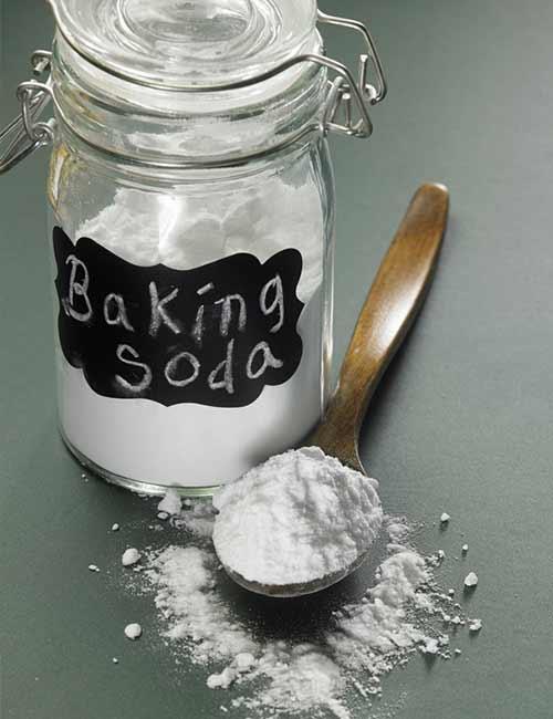 1. Baking Soda Bath
