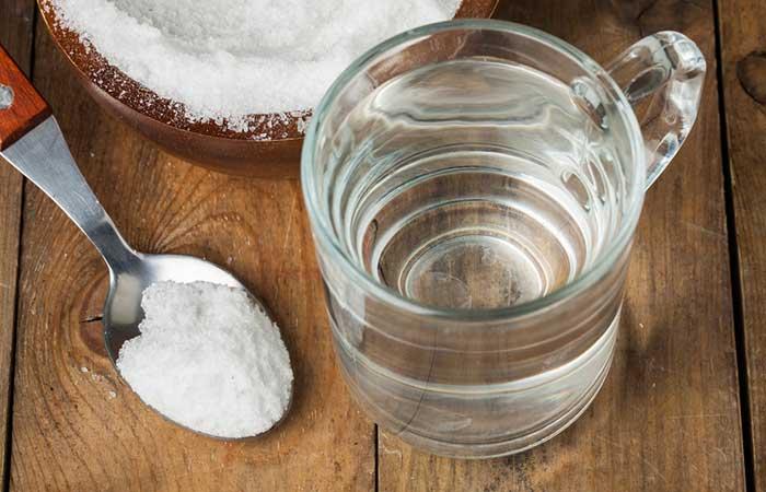 1. Salt Water Gargle