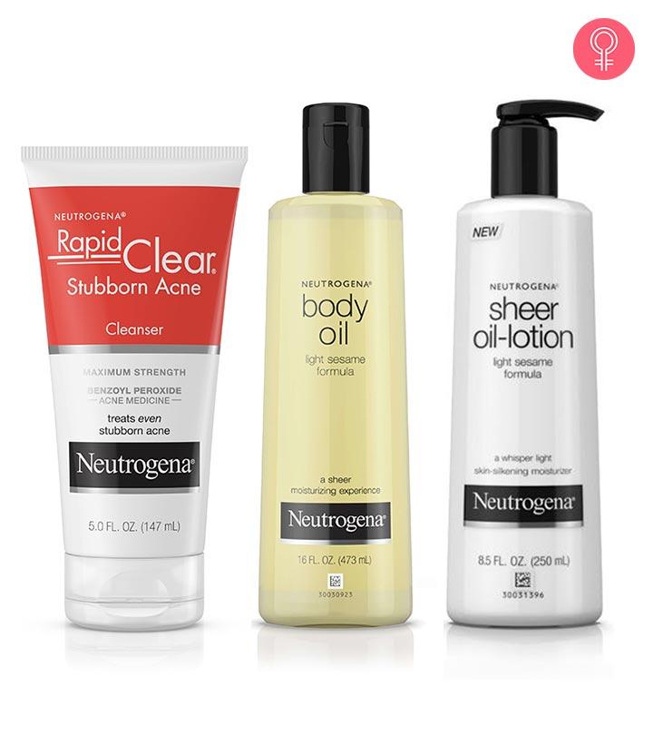 10 Best Neutrogena Skin Care Products