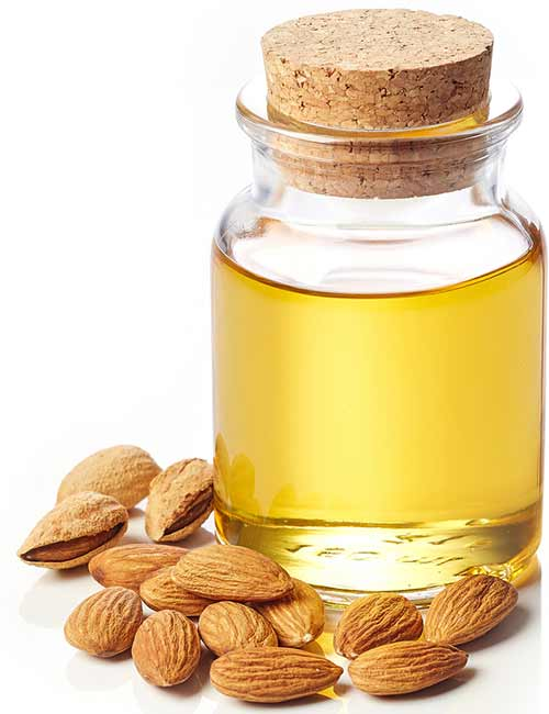 Home Remedies To Get Rid Of Itching Skin - Almond Oil