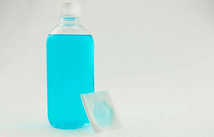 13. Rubbing Alcohol