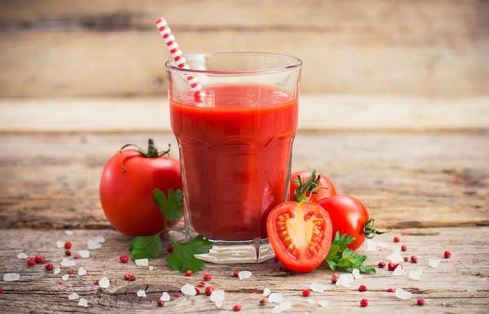14. Tomato Juice