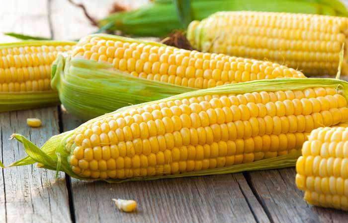 Foods Rich In Manganese - Corn