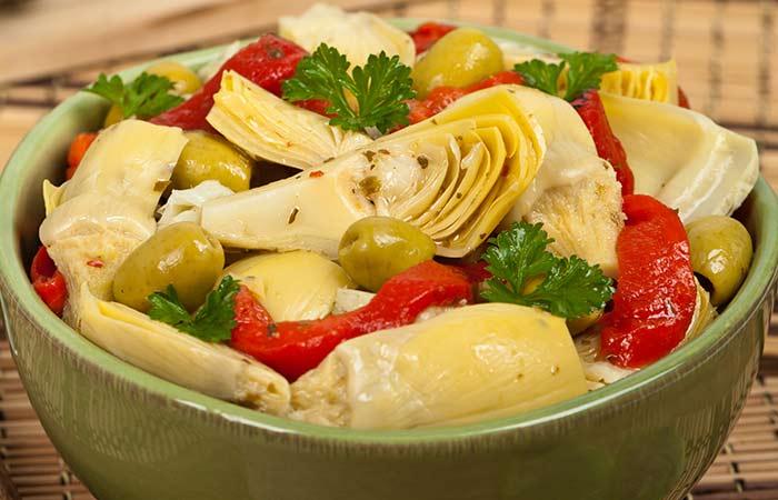 Zesty Italian Vegetarian Salad