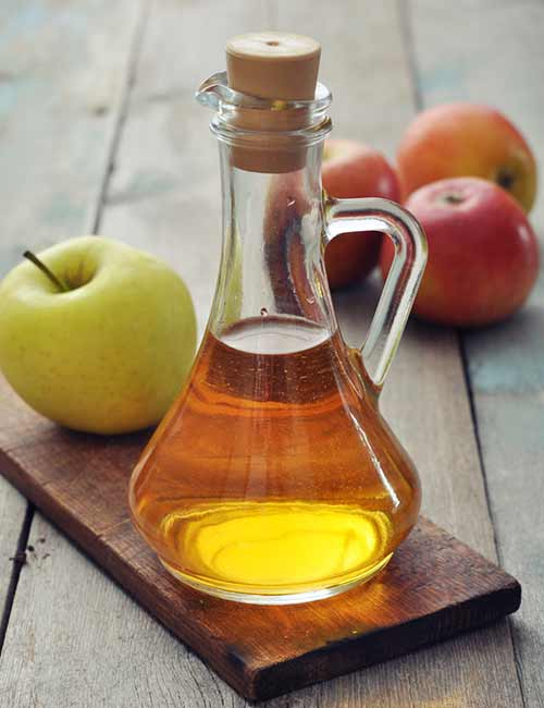 Home Remedies To Get Rid Of Itching Skin - Apple Cider Vinegar