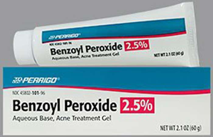 2. Benzoyl Peroxide Gel