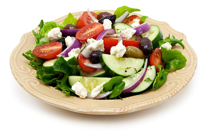 Vegetarian Salad Recipes - Greek Salad