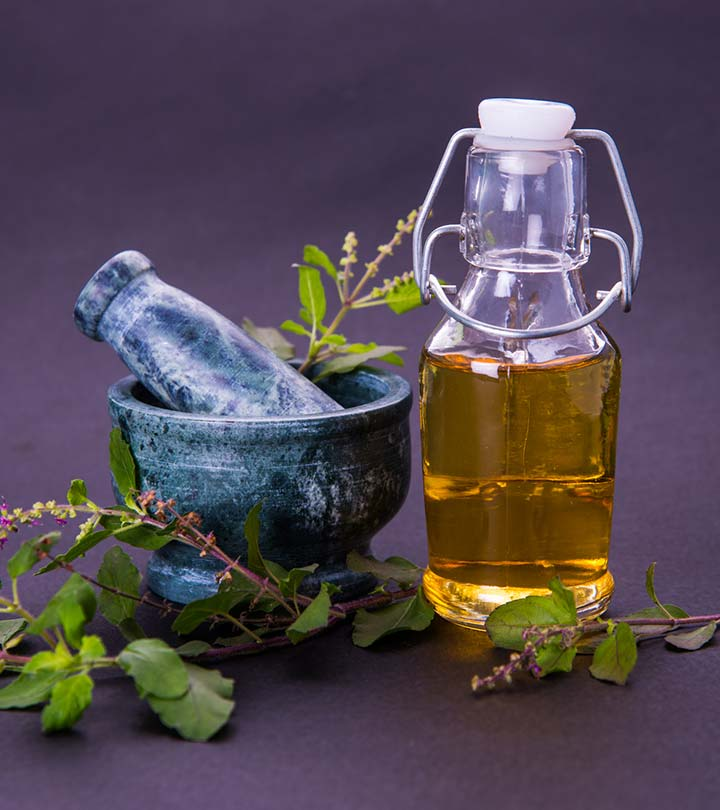 12 Amazing Benefits Of Basil (Tulsi) Oil For Skin And Hair