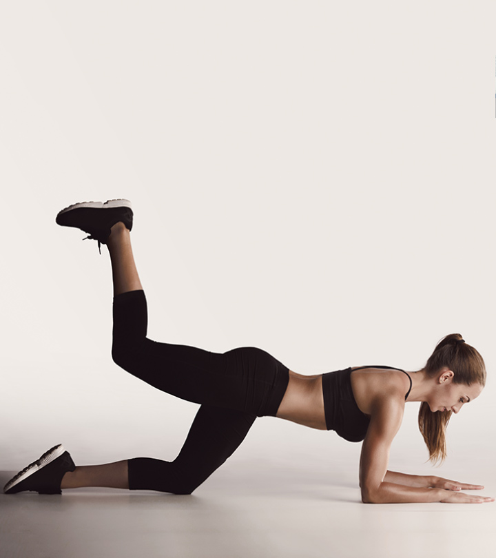 6 Donkey Kick Exercises For Firmer Buttocks