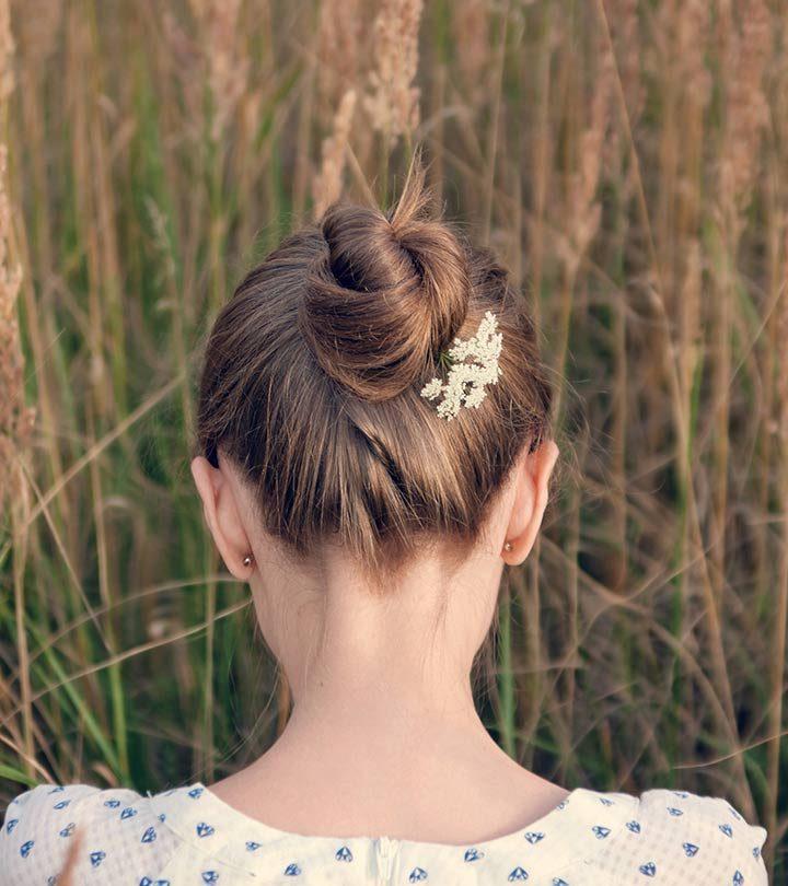 Bun Hairstyle - A Step By Step Tutorial