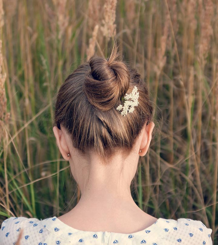 Bun Hairstyle - A Step By Step Tutorial