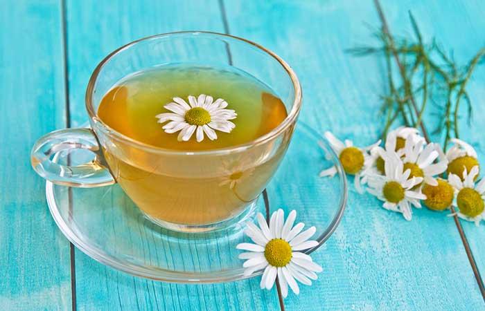 3. Chamomile Tea