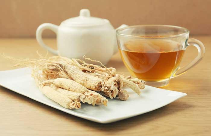 4. Ginseng Tea