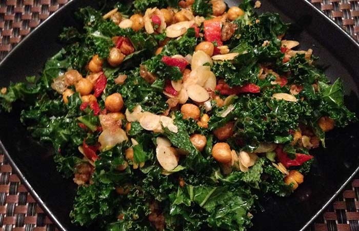 Vegetarian Kale Salad For Weight Loss