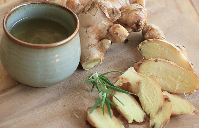 6. Ginger For Chest Congestion