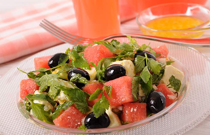 Grapefruit And Watermelon Salad