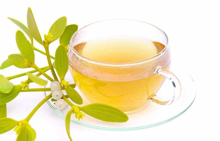 7. Mistletoe Tea
