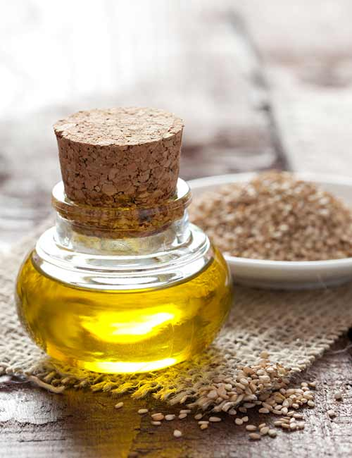 Home Remedies To Get Rid Of Itching Skin - Sesame Seed Oil