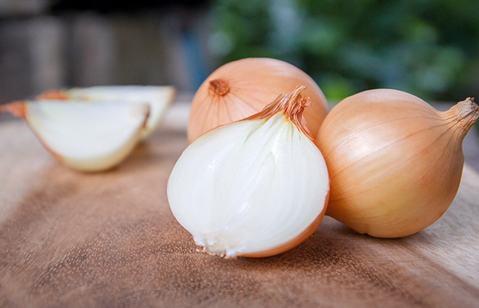 8. Onion Remedy For Chest Congestion