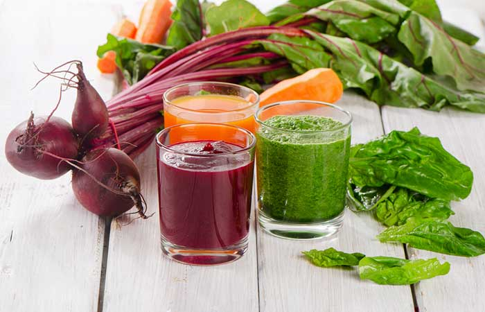 9. Carrot, Cucumber, And Beetroot Juice