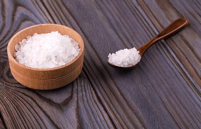 9. Epsom Salt Bath For Chest Congestion