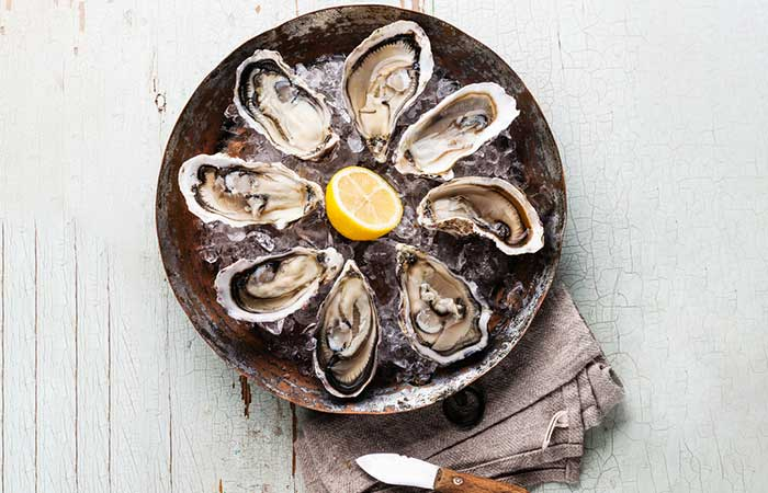 9. Oysters