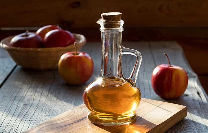 Treat Knee Joint Pain Naturally - Apple Cider Vinegar
