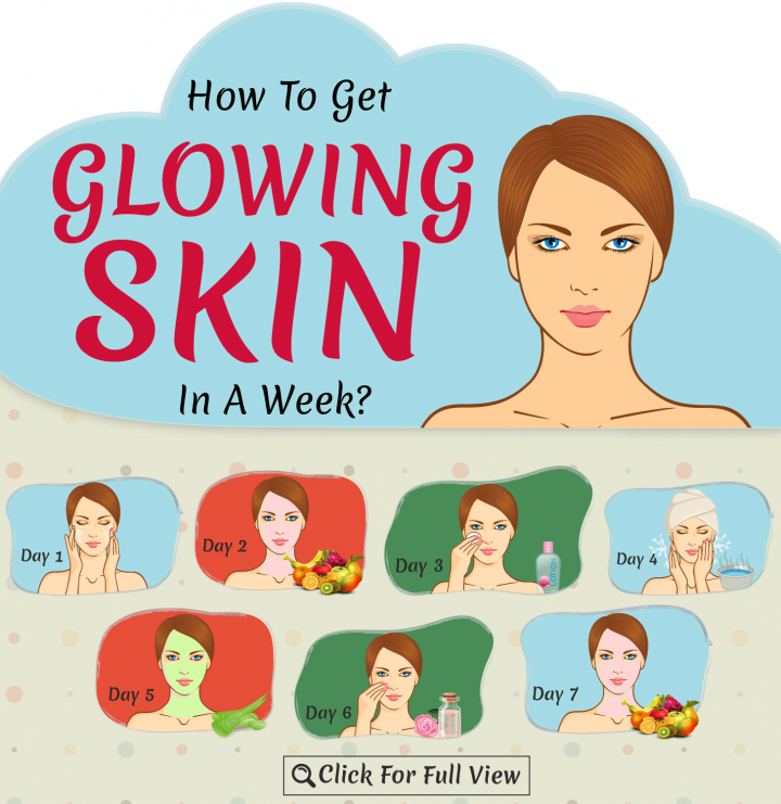 How To Get Glowing Skin In 7 Days