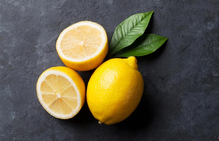 Treat Knee Joint Pain Naturally - Lemon