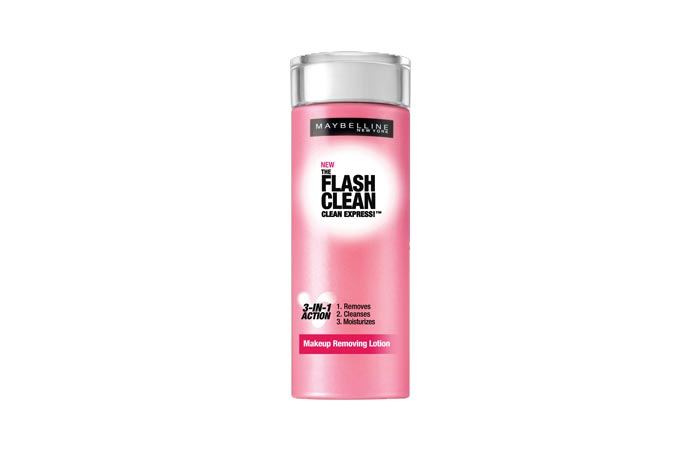 Maybelline The Flash Clean makeup Removing Solution