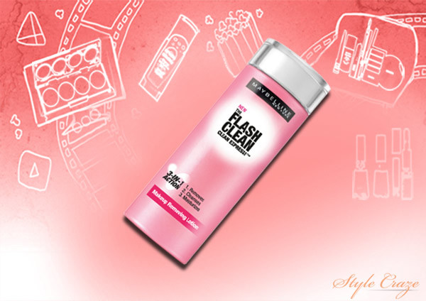 Maybelline The Flash Clean makeup