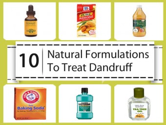 Natural Formulations To Treat Dandruff