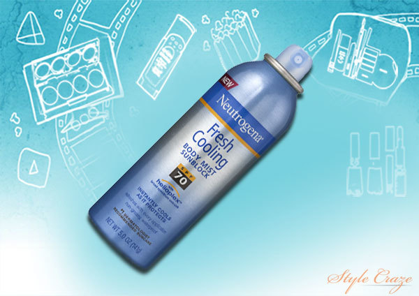 Neutrogena Fresh Cooling Body Mist Sunscreen