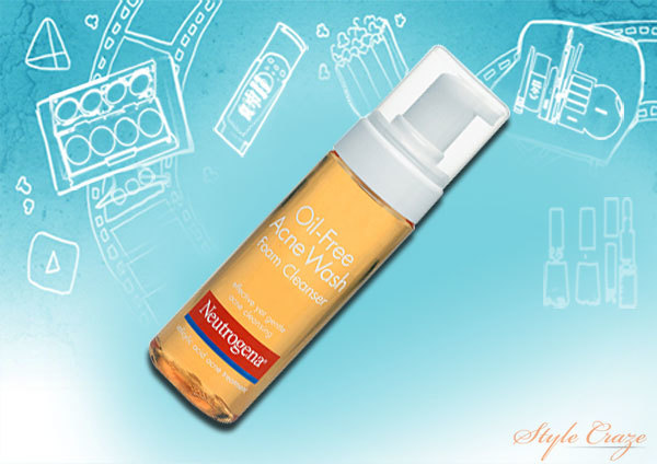 Neutrogena Oil-Free Acne Wash Foam Cleanser