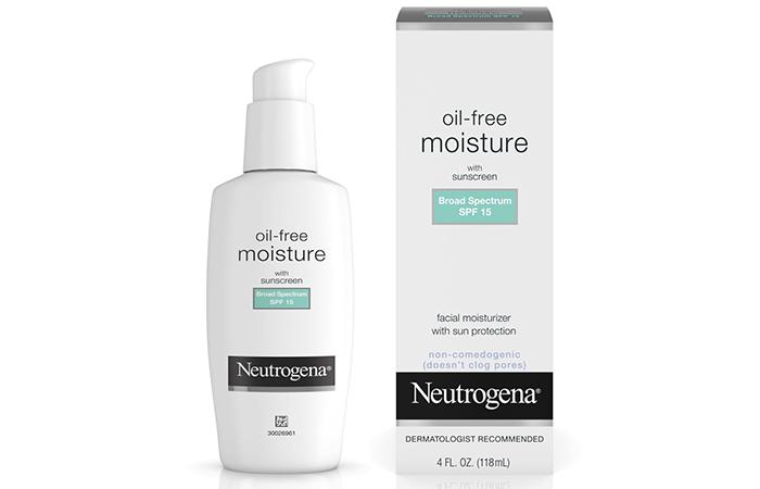 Neutrogena Oil-Free Moisture With Sunscreen