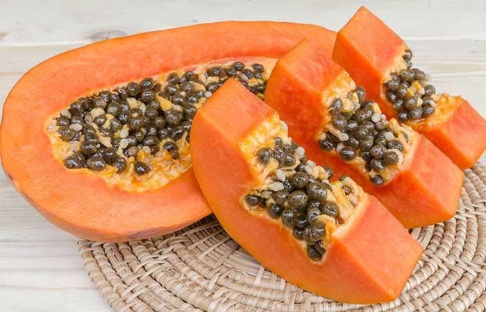 Papaya For Prickly Heat