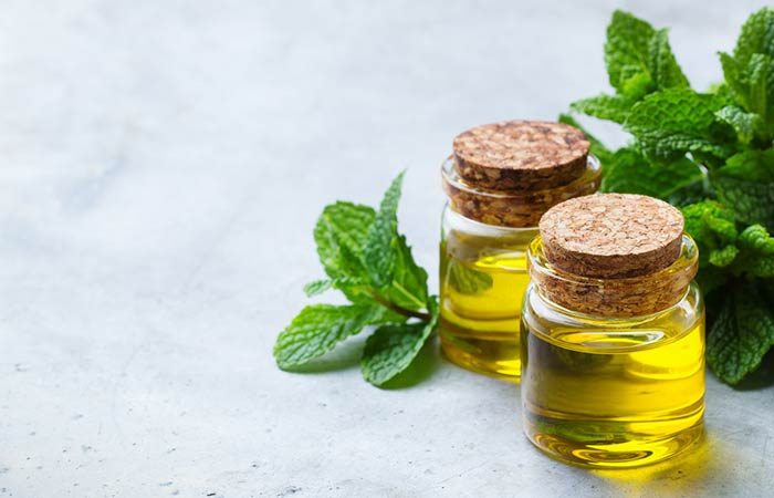 Skin Allergy Remedies - Peppermint Oil