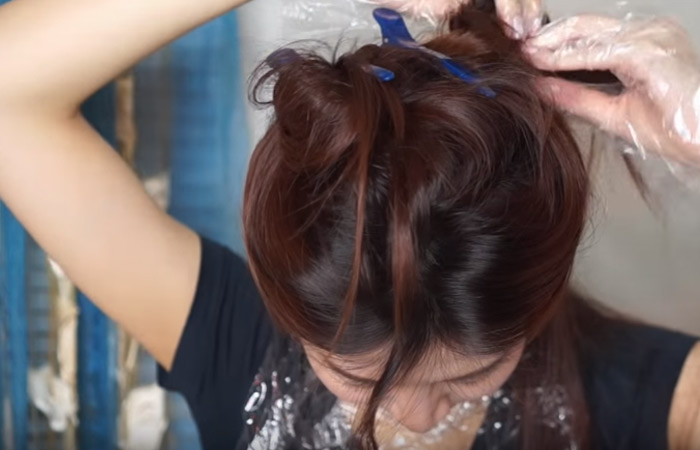 Step 2 Section Your Hair