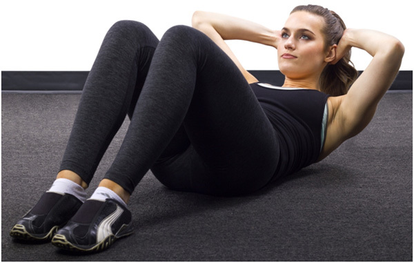 Exercise For Building Muscles - Twisting Crunches